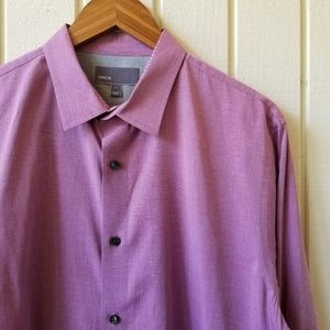 Vince Long Sleeve Button Down Shirt Large